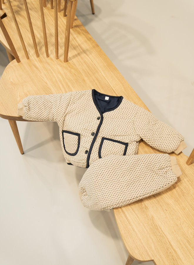 Little Occasion 2-Piece Quilted Coat & Pants