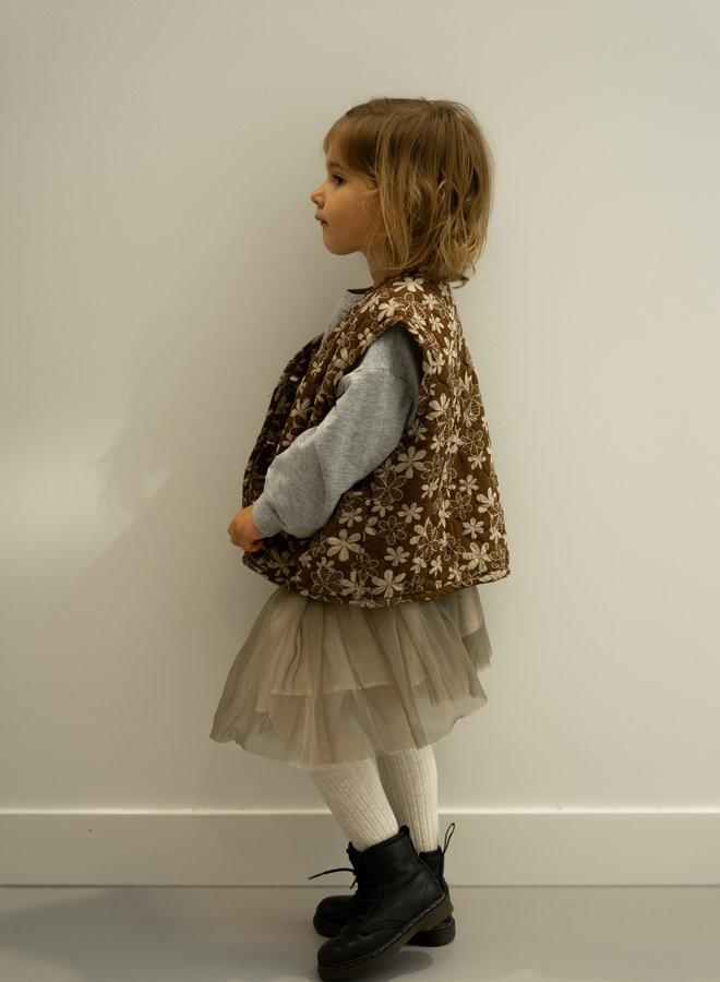Little Occasion Floral Thick Vest
