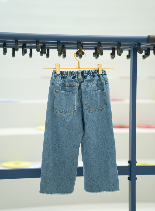 Little Occasion Ripped Wide Fit Jeans