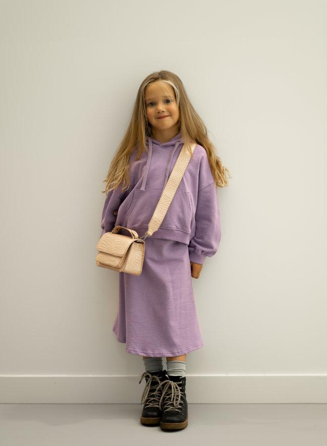 Little Occasion 2-Piece Hoodie & Skirt