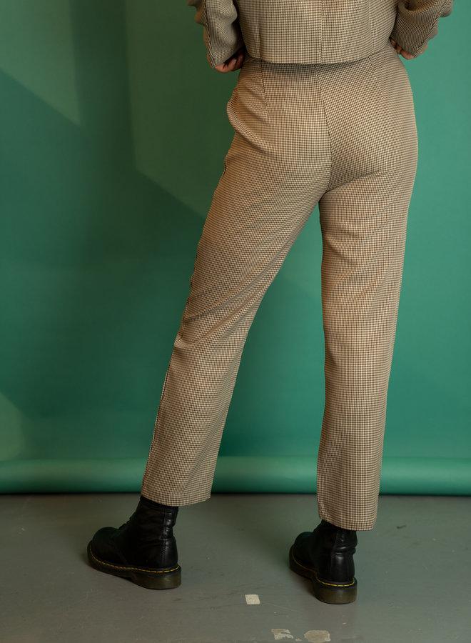Make My Day Checked Set Pantalon