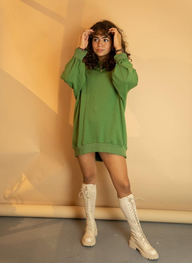 Make My Day Oversized Sweaterdress