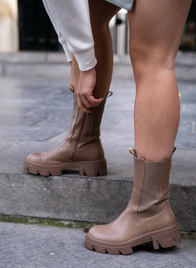Make My Day Chelsea Platform Boots