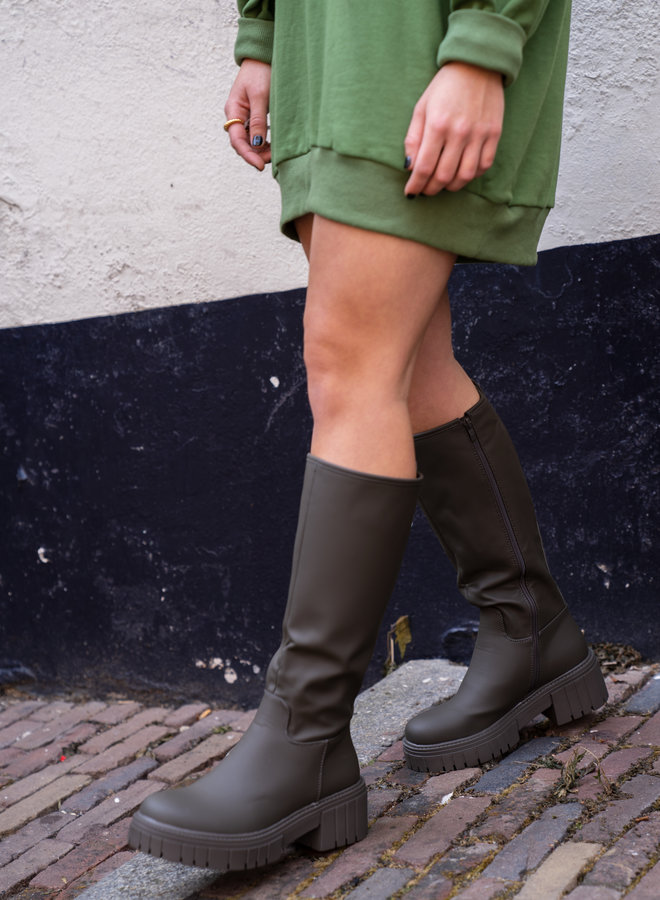 Make My Day High Rubber Boot