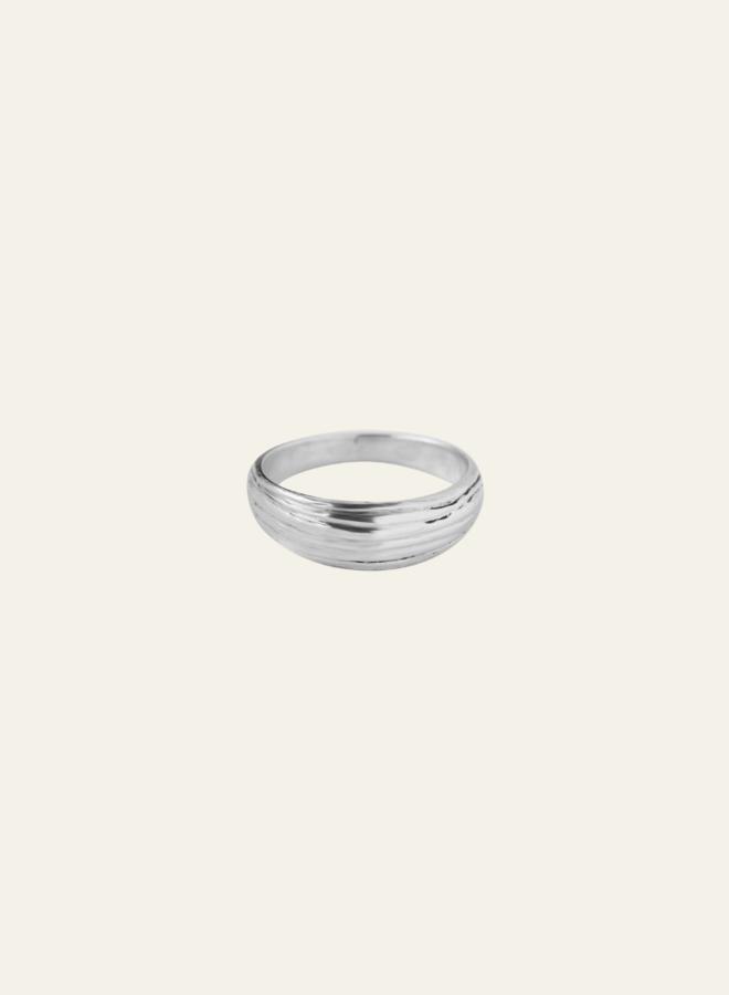 Xzota Molly Line Ring Silver