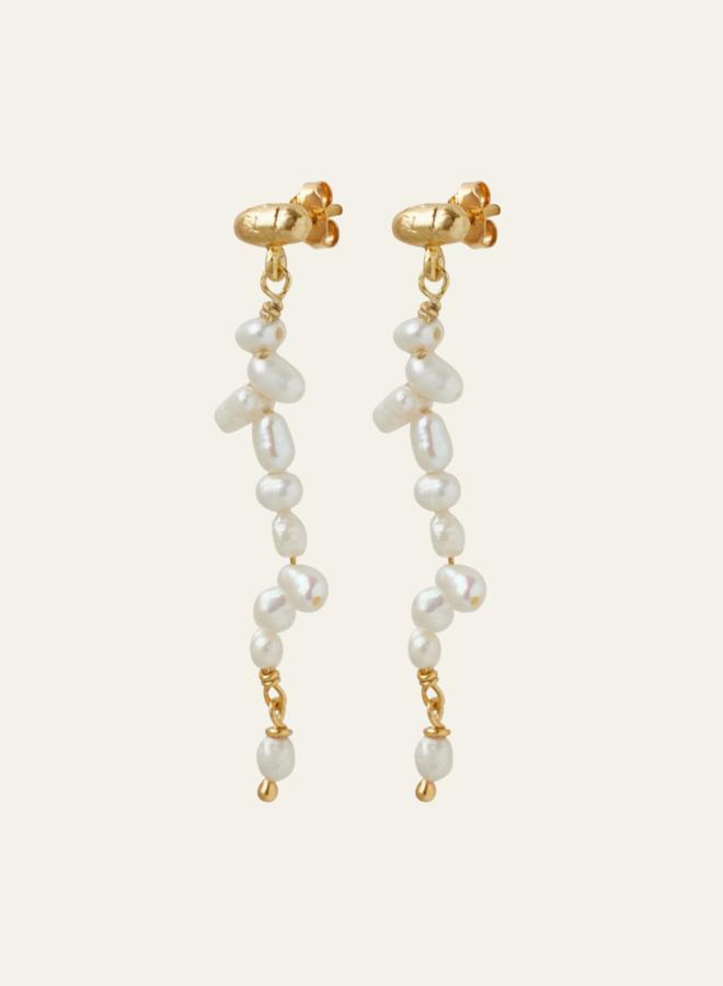 Xzota Pearl Earring Long