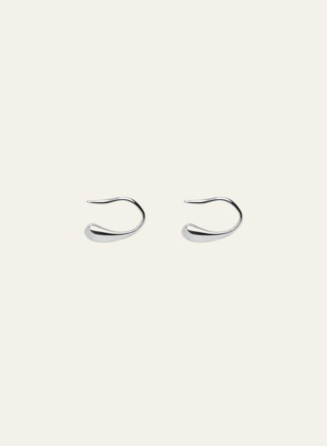 Xzota Eardrop Earring Silver