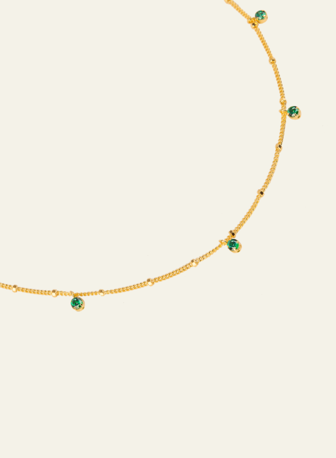 Aleyolé Green Element Necklace