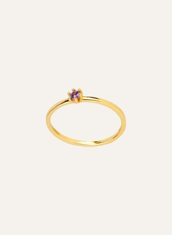 Aleyolé Eleanor Ring Lilac