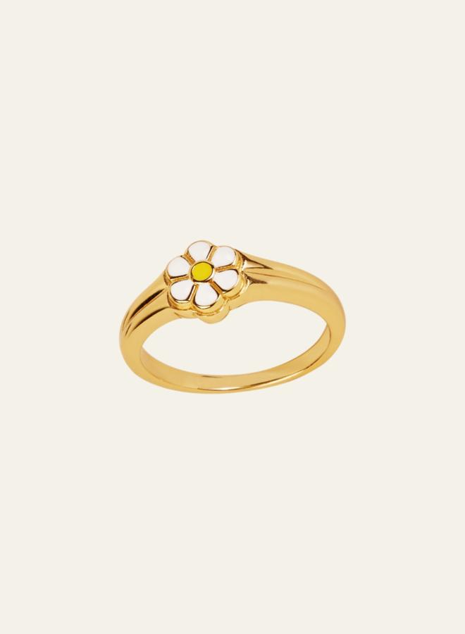 Aleyolé Retro Daisy Ring