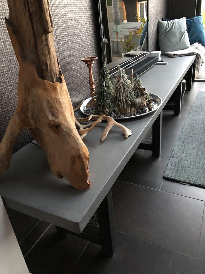 Plan van aanpak om een beton ciré meubel en keukenblad te maken