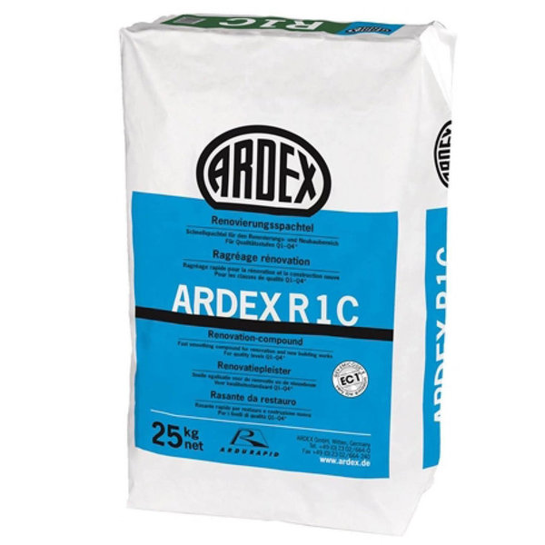 Ardex Ardex R1  Renovatiepleister 25 kilo