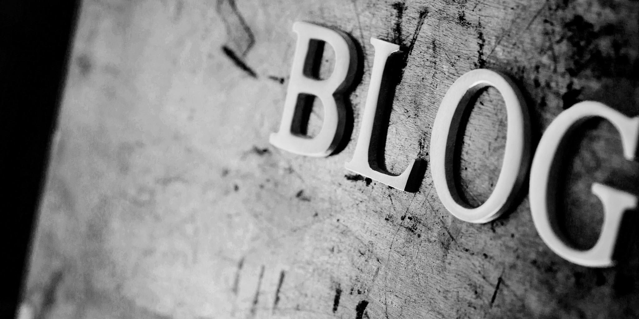 Blogs. Waar zal ik over schrijven?