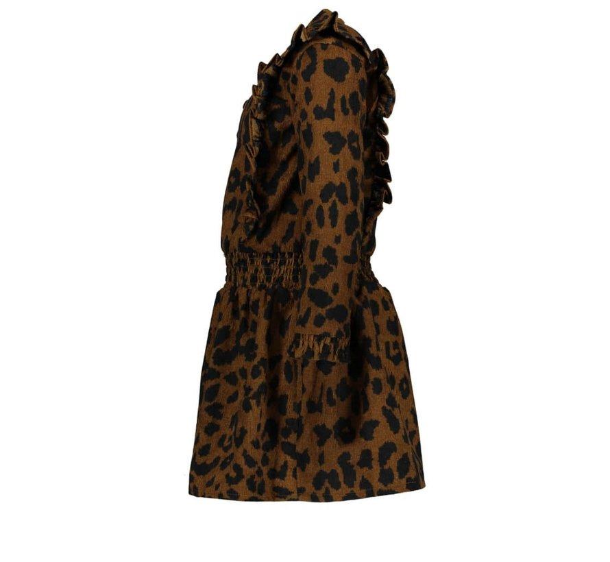 Like Flo jurk leopard