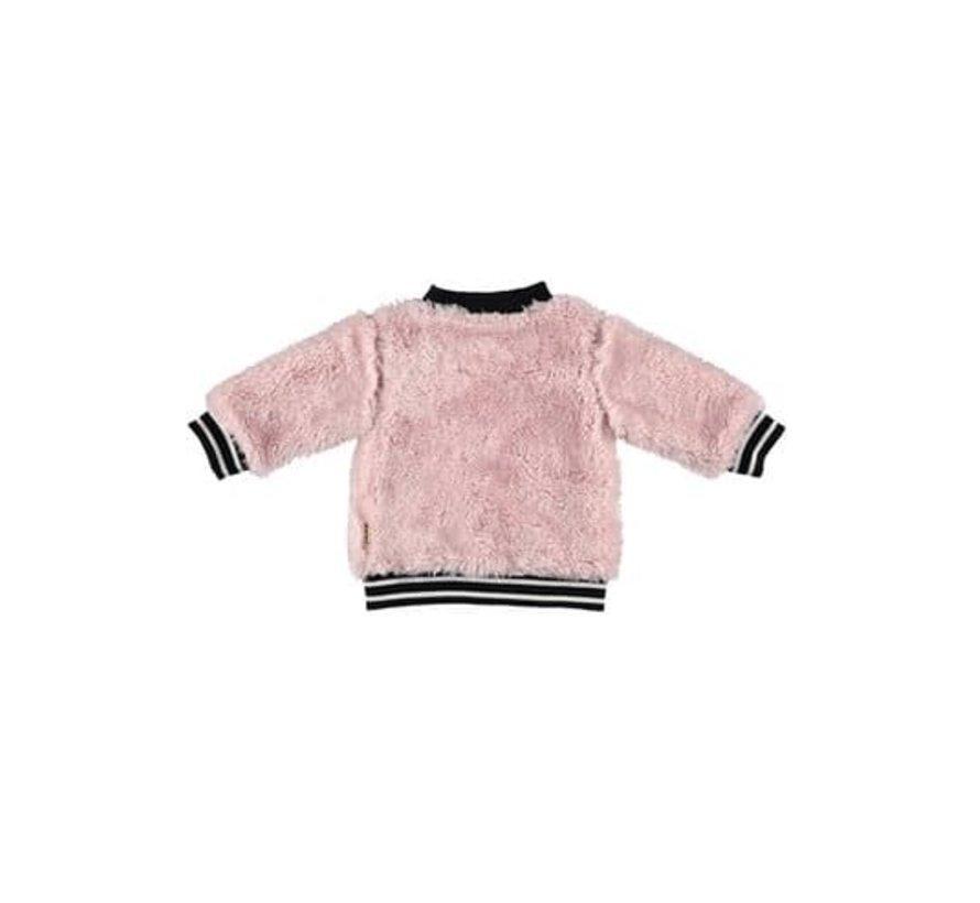 Bess cardigan roze
