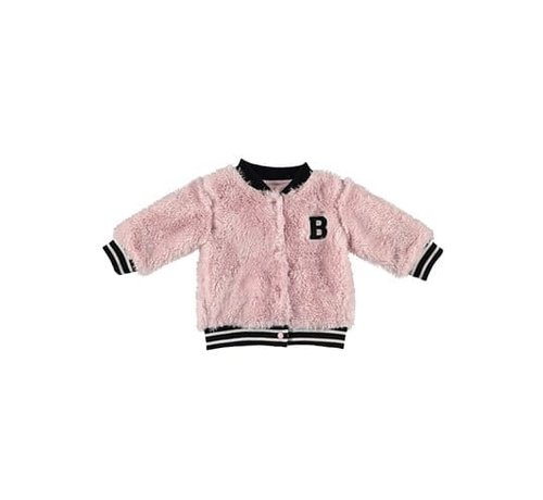 B.e.s.s. Bess cardigan roze