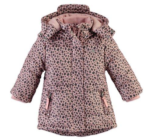 Babyface Babyface winterjas roze print