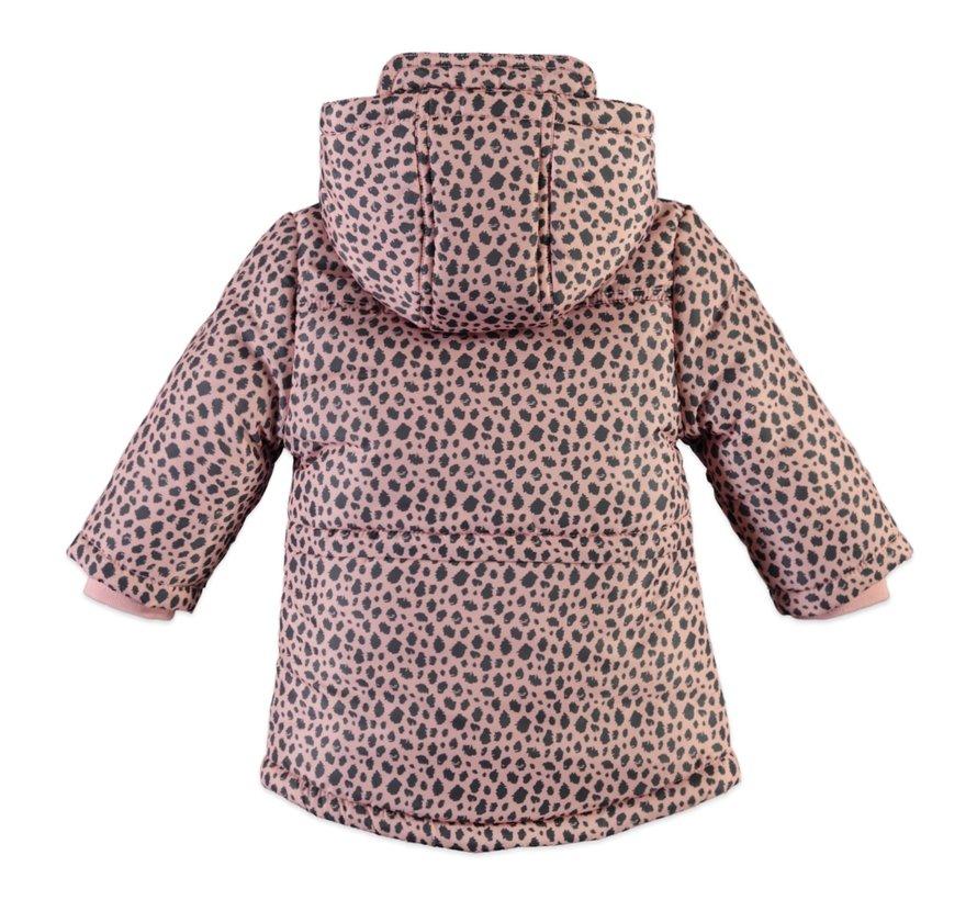 Babyface winterjas roze print