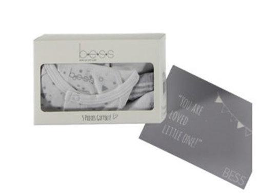 B.e.s.s. Bess Giftbox kruippak unisex