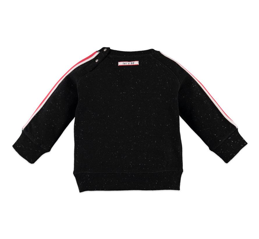 Babyface zwarte cosmic sweater