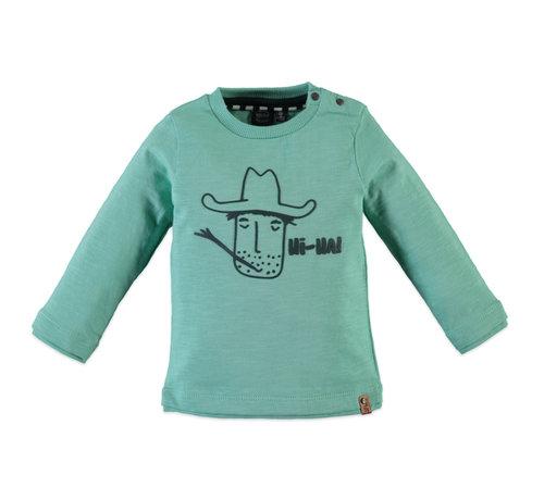 Babyface Babyface groene longsleeve cowboy