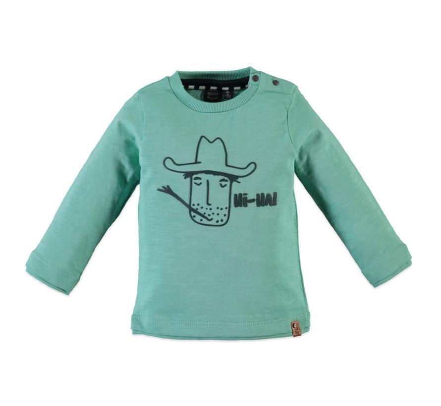 Babyface groene longsleeve cowboy