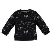Babyface Babyface zwarte sweater