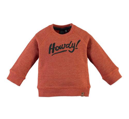 Babyface Babyface oranje sweater