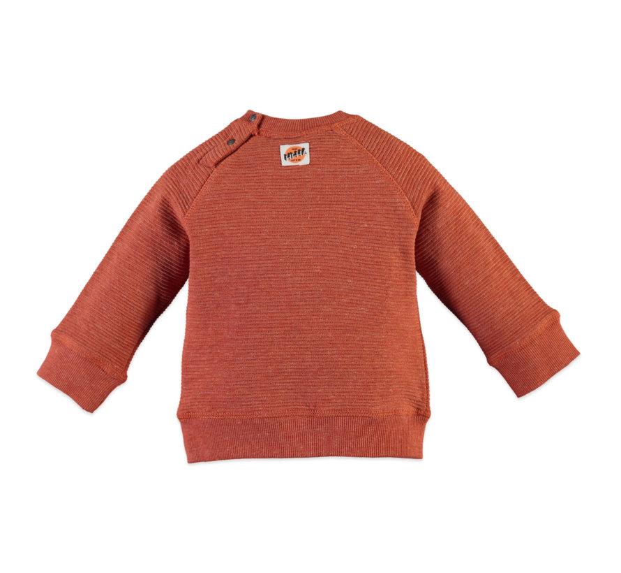 Babyface oranje sweater