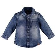 Babyface Babyface blauwe jeans hemd