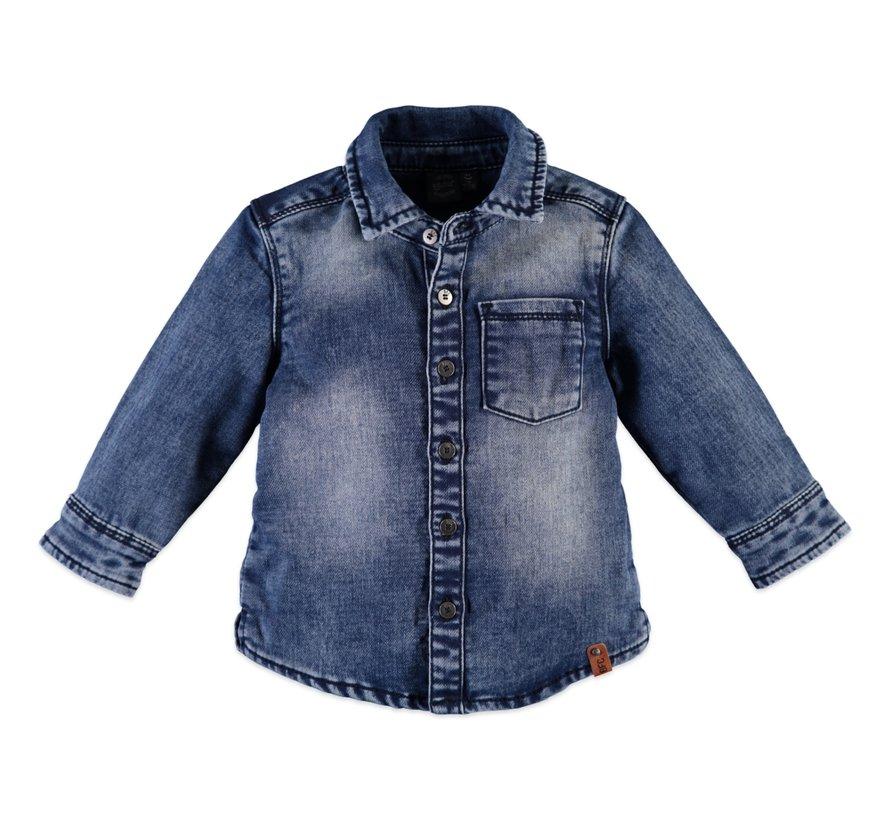 Babyface blauwe jeans hemd