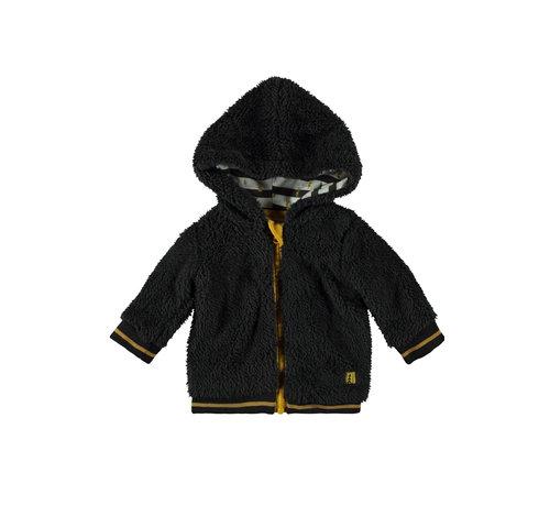 Bampidano Bampidano grijs/zwarte jas