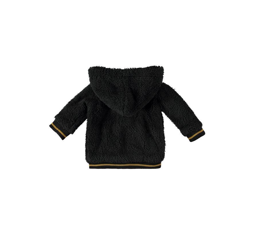 Bampidano grijs/zwarte jas