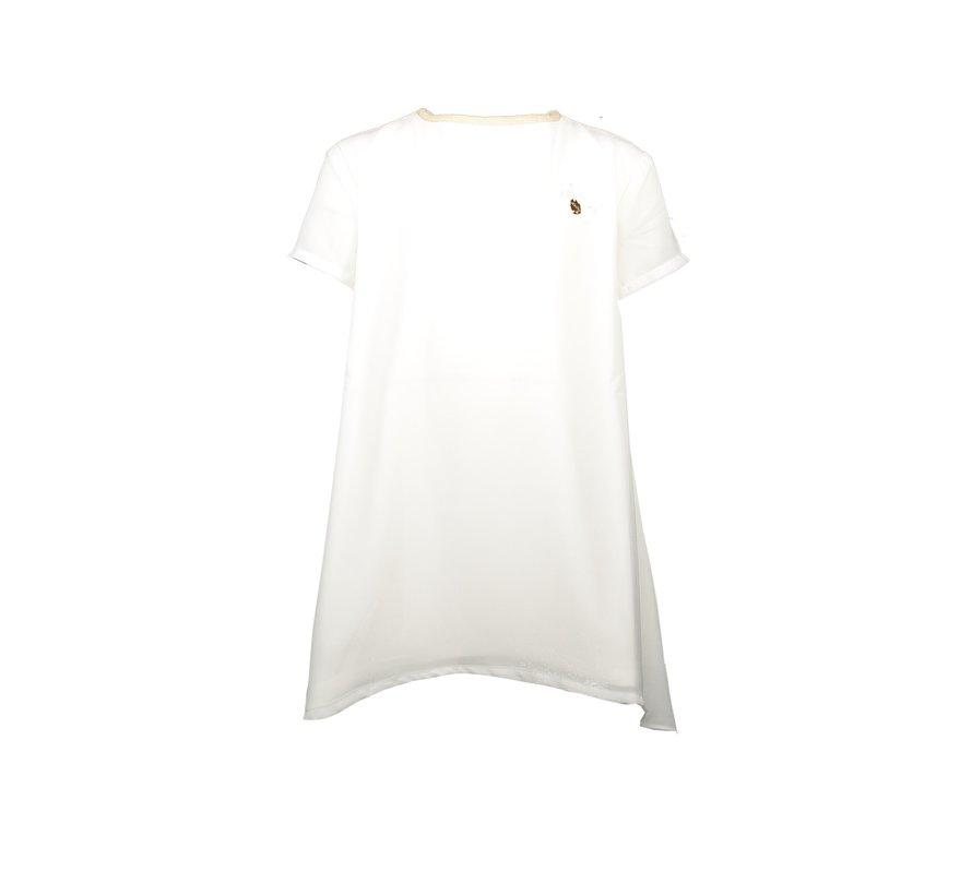 Le chic wit kleedje