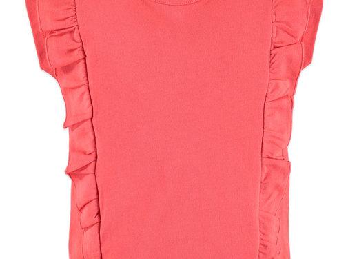 Babyface Babyface girl t-shirt roze/oranje