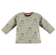 Babyface Babyface olijf kleurig aop t-shirt