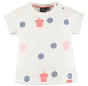 Babyface Babyface Wit -t-shirt met print