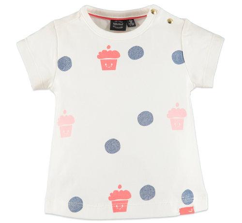 Babyface Babyface wit t-shirt met print