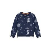 Quapi Quapi blauwe sweater