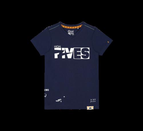 Quapi donker blauwe t-shirt
