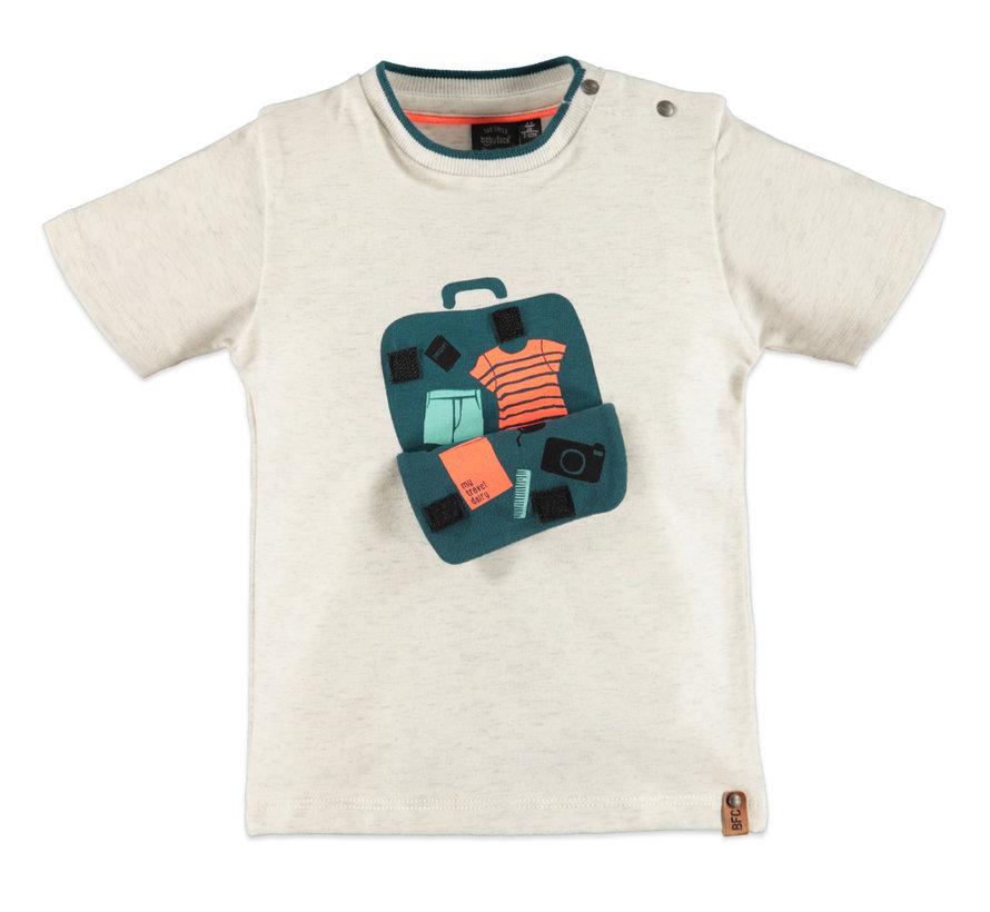 Babyface creme kleurig t-shirt