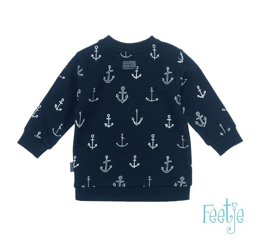 feetje blauwe sweater