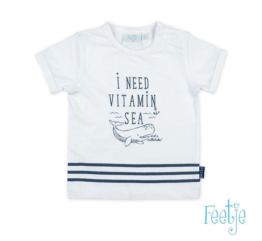 Feetje wit t-shirt vitamin sea