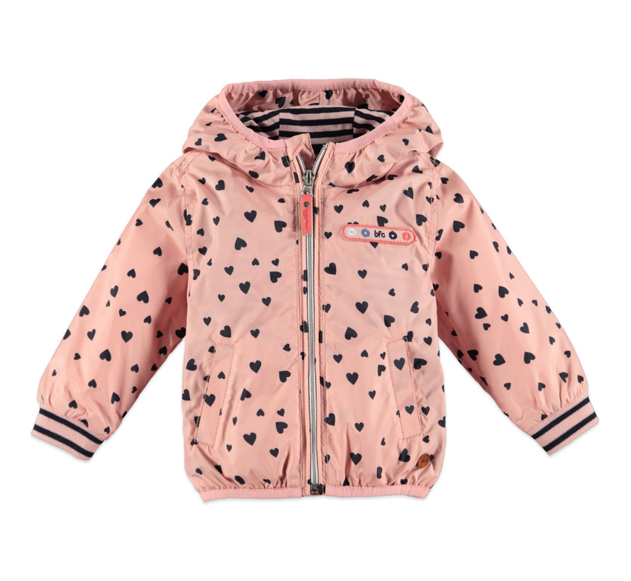 Babyface roze zomer/regenjas