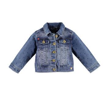 Babyface Babyface blauwe jeans jas