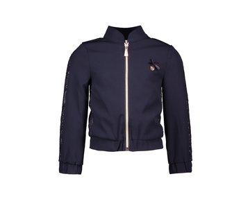 Le Chic Le chic blauwe bomber jacket