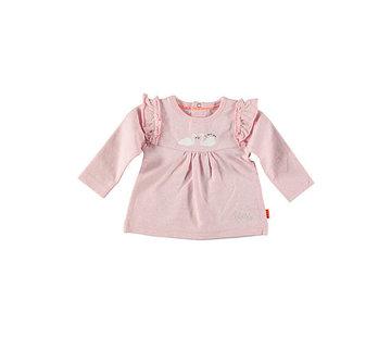B.e.s.s. Bess roze long sleeve zwanen