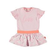 B.e.s.s. Bess roze jurk love
