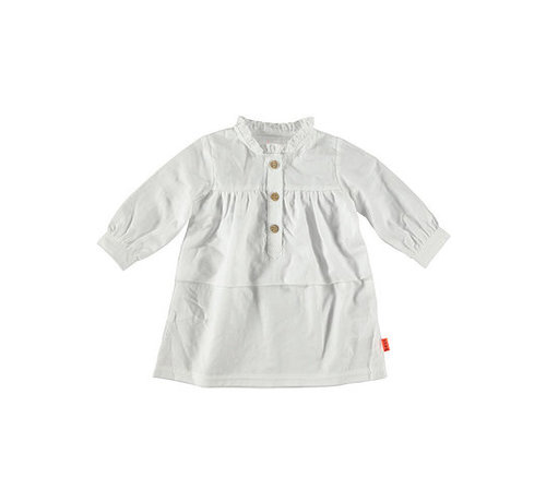B.e.s.s. Bess kleedje witte embroidery