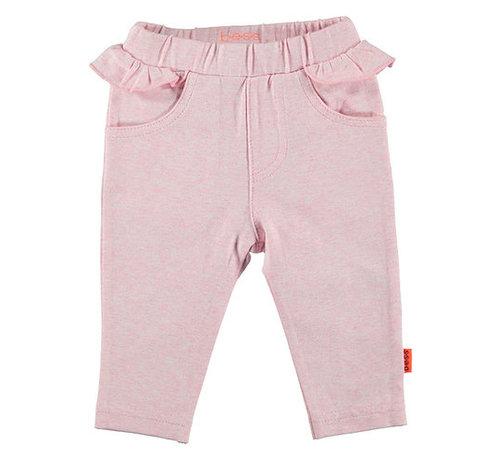 B.e.s.s. Bess roze broek ruffles